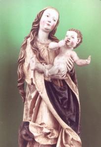 © Pfarre Aspersdorf | Pfarrkirche Aspersdorf | Aspersdorfer Madonna (um 1515)