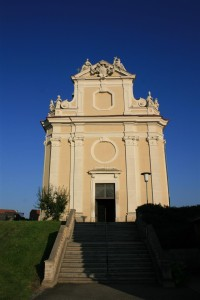 © P. Dominic OSA | Pfarrkirche Aspersdorf | Fassade