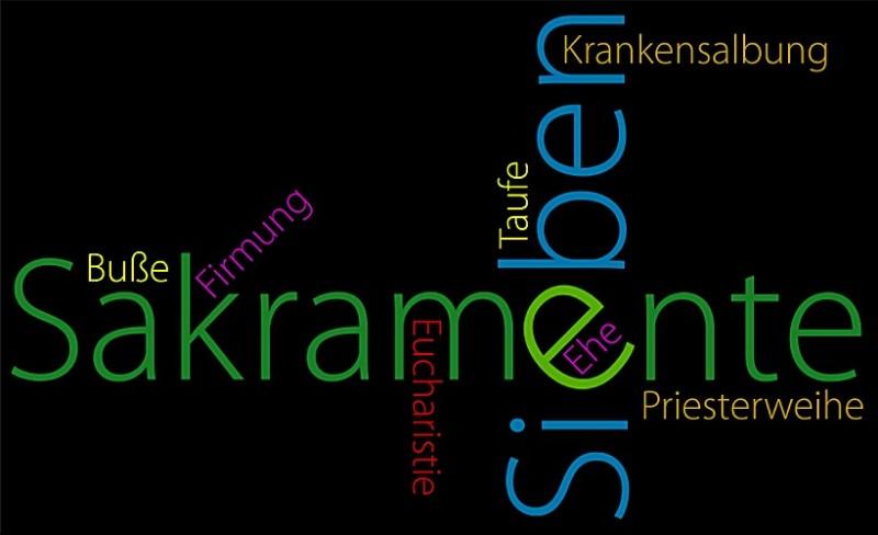 Sakramente | Quelle: Thermenpfarrverband Bad Waltersdorf