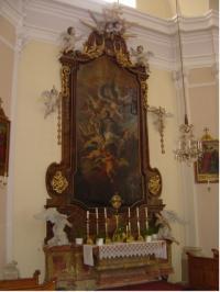 © P. Dominic OSA | Pfarrkirche Aspersdorf | Seitenaltar Maria Immaculata