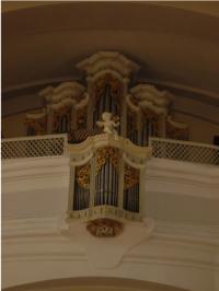 © P. Dominic OSA | Pfarrkirche Aspersdorf | Orgel